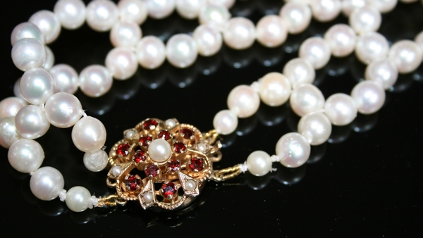 Antique An Art Deco Pearl Necklace