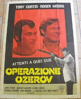 Antique POSTER 1970 FROM CINECITTA (ROME)
