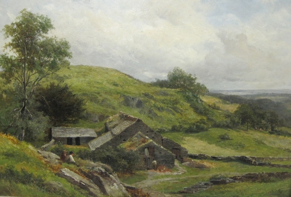 David Bates - Fine Qualty Welsh Farm Landscape