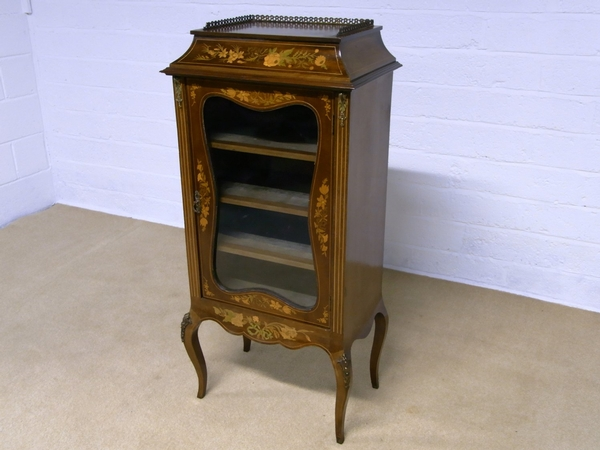 Antique Antique French Inlaid cabinet