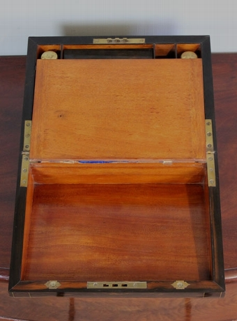 Antique Antique Victorian Coromandel writing box / slope