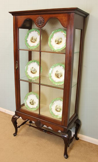 Antique Antique Mahogany Display Cabinet,