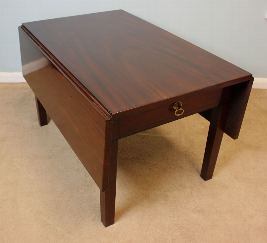 Antique Antique Mahogany Coffee Table
