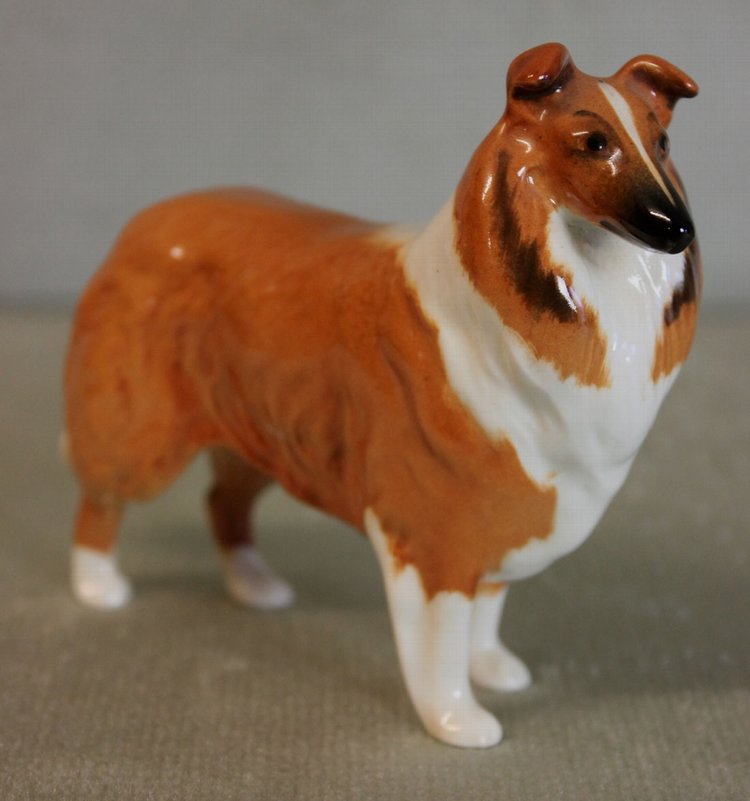 Small Beswick Collie Dog,