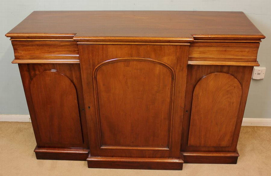 Antique Antique Mahogany Side Cabinet / Sideboard
