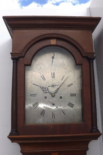 Antique antique London eight day longcase grandfather clock