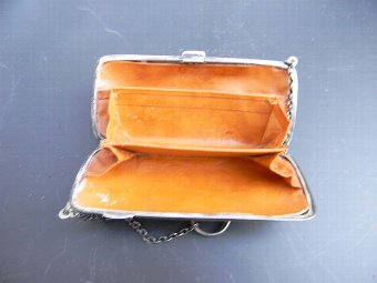 Antique Silver lady's purse