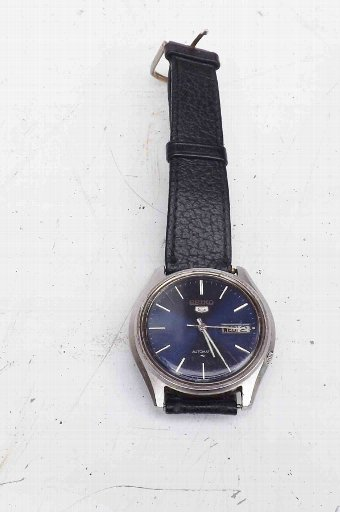 Antique mans Seiko automatic vintage wrist watch