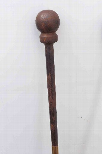 Antique antique fire irons large Stately home items of importance.