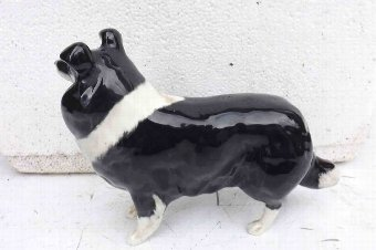 Antique beswick Collie English sheep dog
