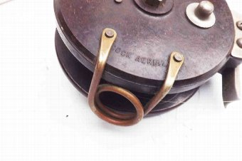 Antique vintage fishing reel