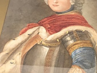 Antique Frederick The Great. King Of Prussia,