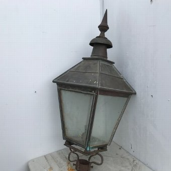 Antique LMS RAILWAYS STATIONS LAMP