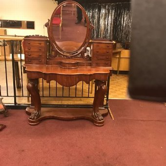 Antique Superb Victorian duchess dressing table in quality mahogany