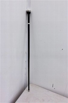 Antique Sword stick with silver mounts