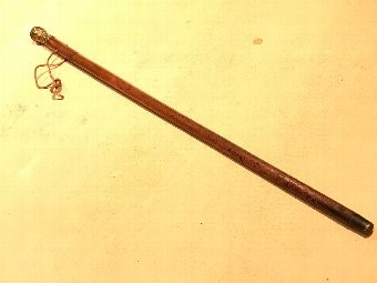 Antique British army Officers walking stick come sword stick