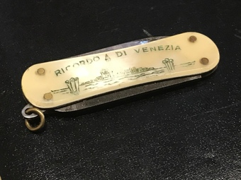 Small Venetian lady's pocket knife