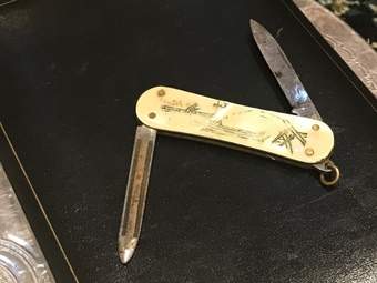 Antique Small Venetian lady's pocket knife