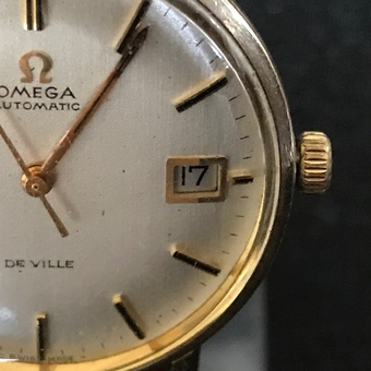 Antique Omega Seamaster 18ct  Automatic Man's Wristwatch