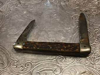 Antique Pen knife horn handles