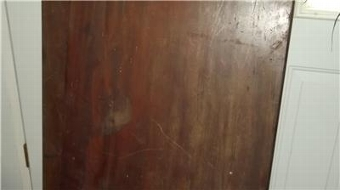 Antique TABLE LEAVES OF CUBAN MAHOGANY TOP QUALITY GEORGIAN