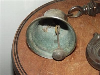 Antique BELL SHOP VICTORIAN KEEPERS ALARM--SGB3