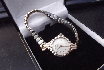 Antique  Gold 9ct Wristwatch ladies