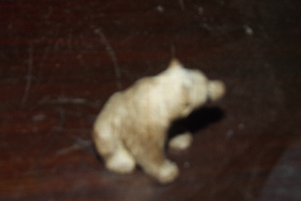 Antique Blackforest carved Grissly bear