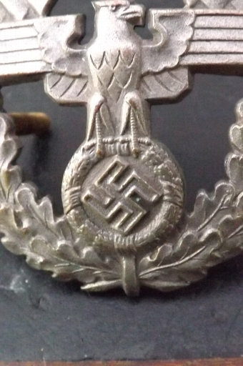 Antique German 2ww late war badge N.S.K.K