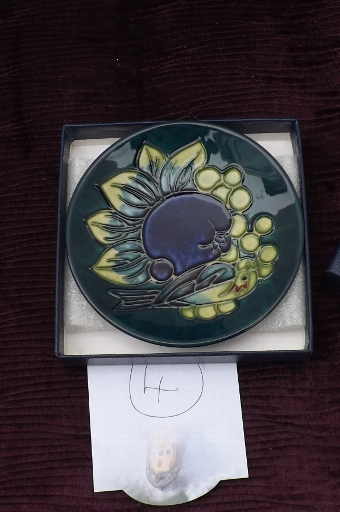 Antique Rare Charger by Moorcroft circa 20th century.Comes in own original box. CB