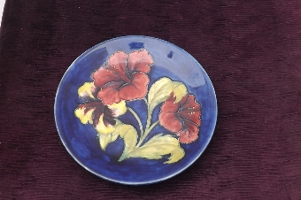 Antique Rare Charger by Moorcroft circa early 20th century. CB