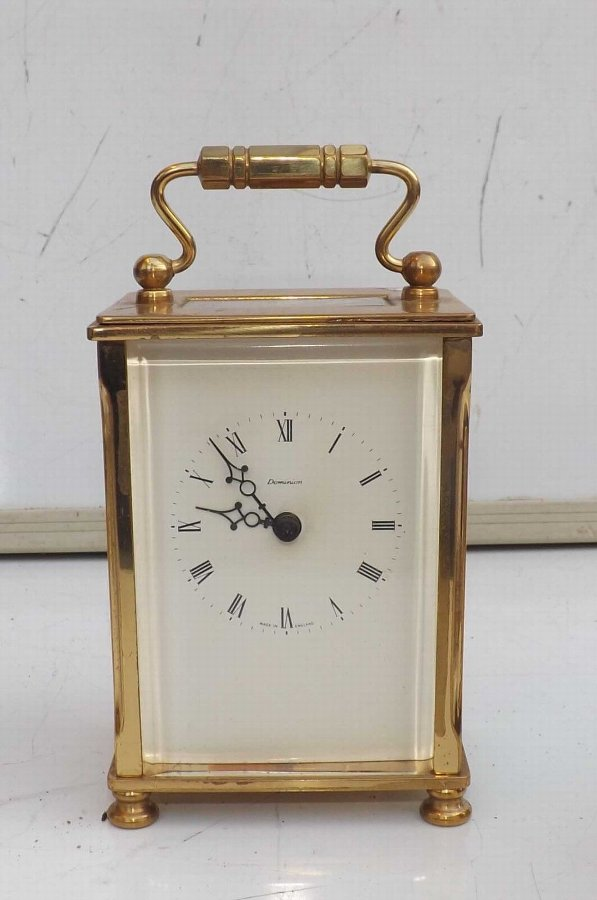 Carriage clock 8 day mechanical movement