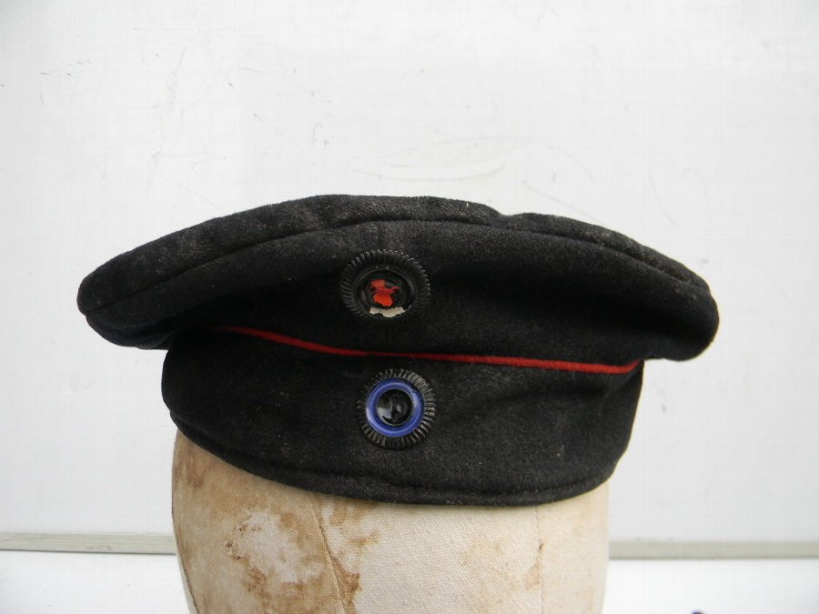 German 1ww Tank crew hat