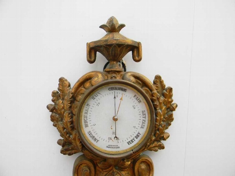 Antique Cartel wall clock French early 19th century