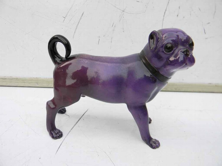 royal worcester Pugh dog