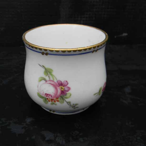 Sevres hand painted bowl 18th century rare