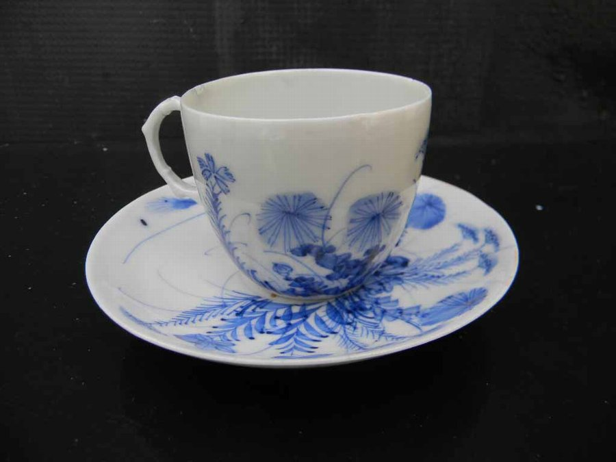 Chinese cup & saucer hand crafted design old and beautiful