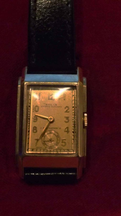 Rolex Prince Elegant 9ct gold cased