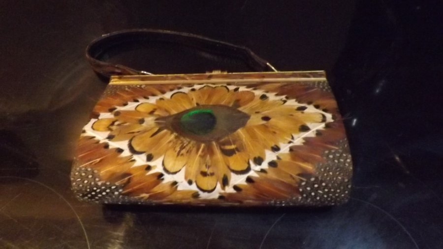 Elegant Lady's handbag and purse