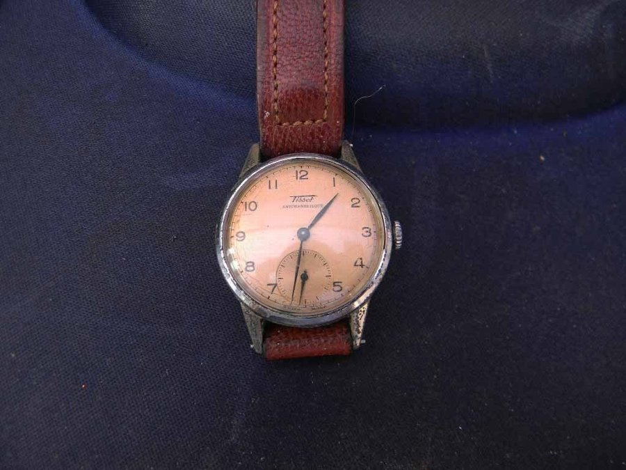 mans watch tissot vintage
