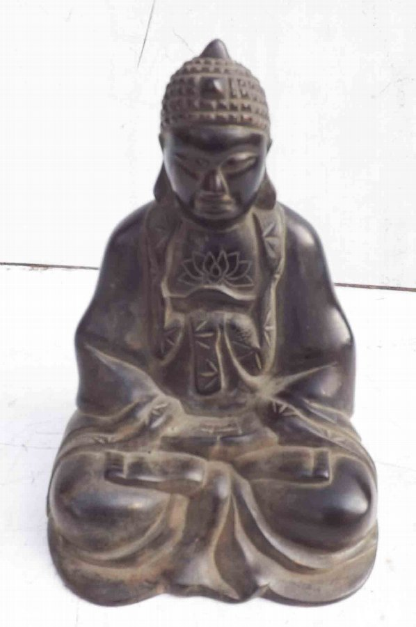 Buddah in Bronze statue, early 19th century.