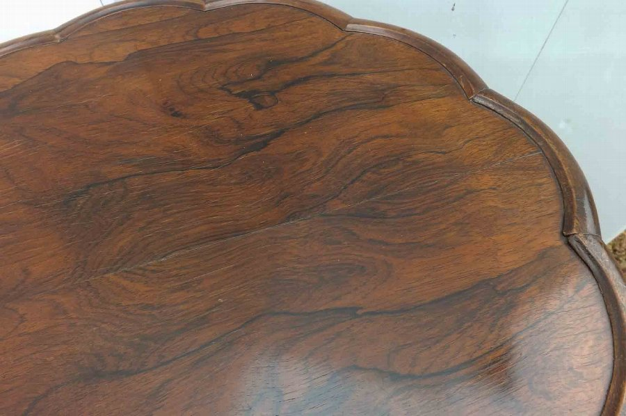 Antique Victorian rosewood table of quality
