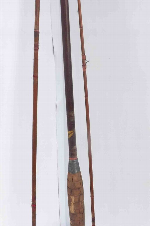 Antique Martin James 9ft greenhart salmon fly rod.