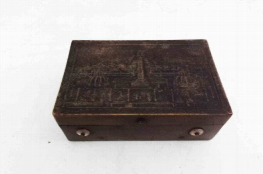 Antique Snuff box/musical Victorian