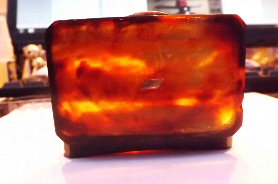 Antique Tortoise shell, hip snuff box