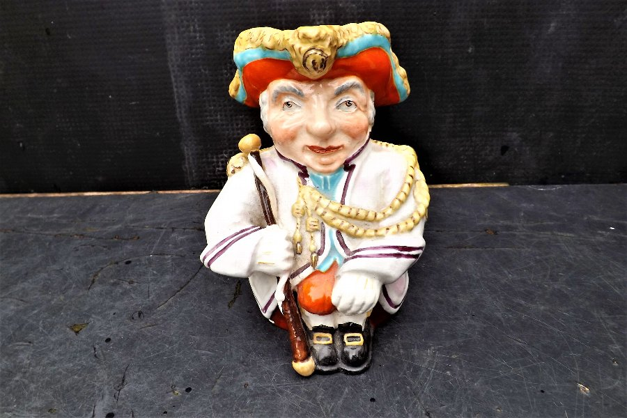 Wedgwood & Co Ltd rare 1900's Toby Jug of