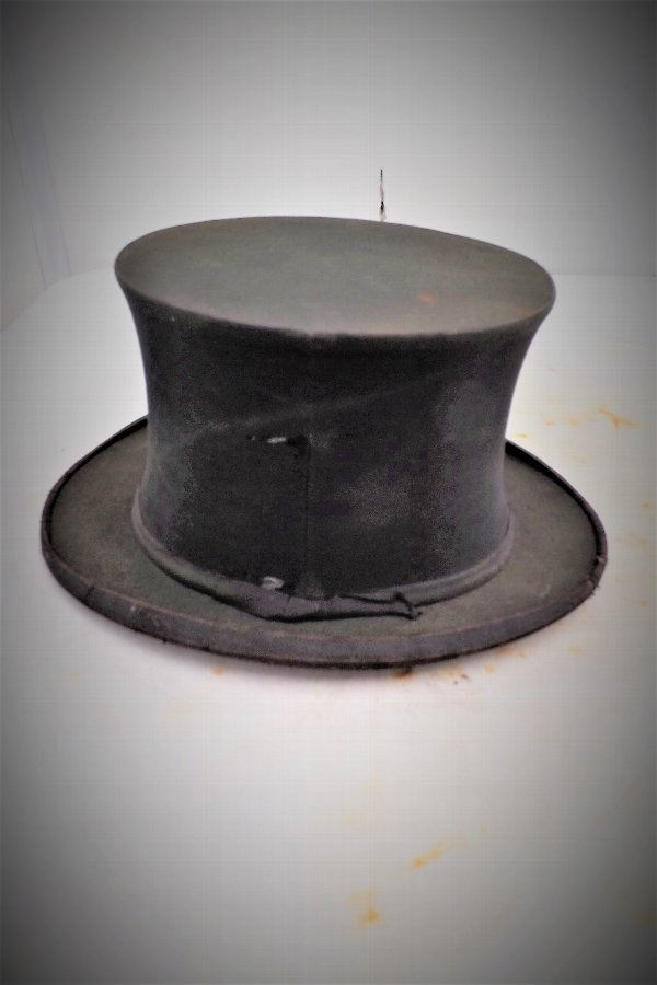 Top Hat Victorian Folding spring loaded type