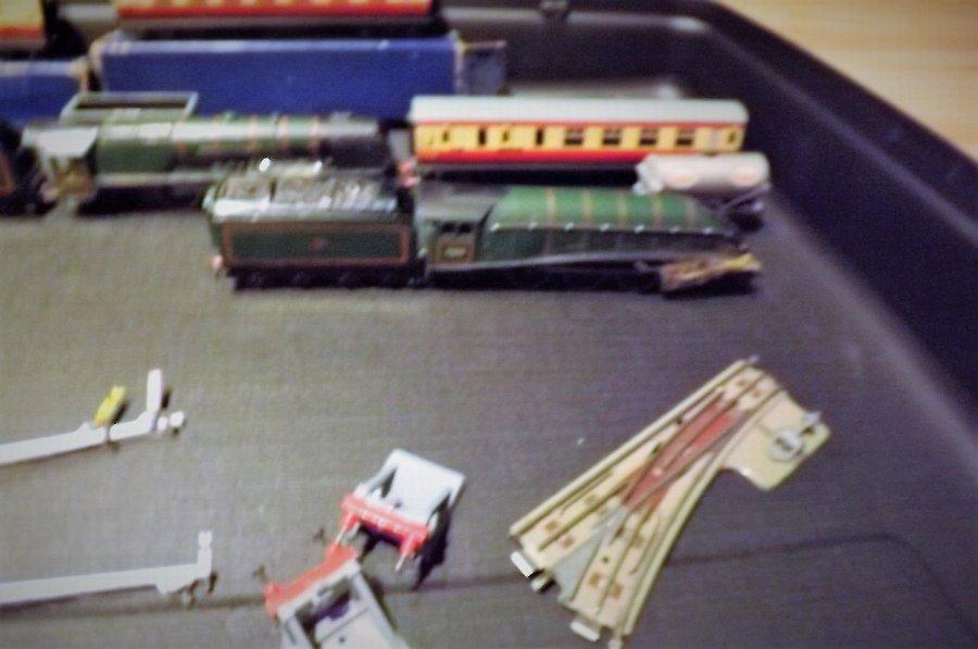 Vintage hornby train set