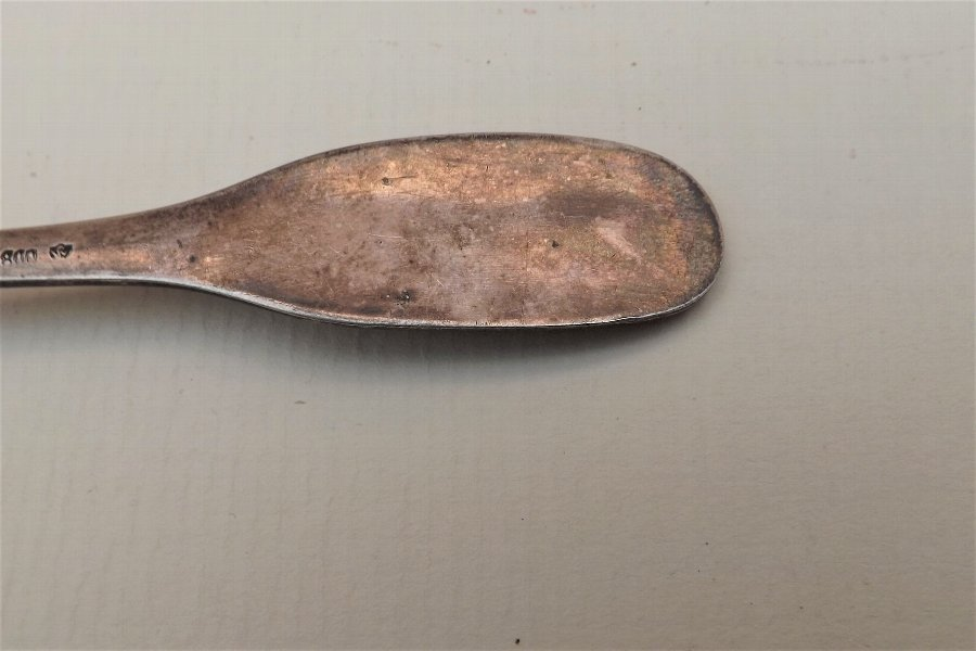 Antique Silver tea caddy spoon