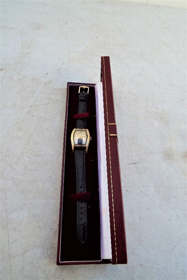 Vintage Art Deco style Genuine Bulova Watch From The 1940'S